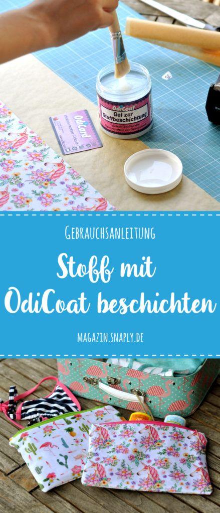 Photo of Beschichten Sie den Stoff mit Odicoat – Anleitung | Schnelles Magazin