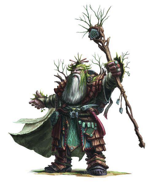 Resultado de imagem para dwarf druid