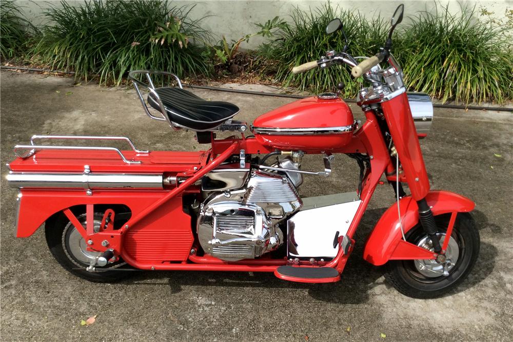 1964 cushman super eagle scooter motorcycles. Black Bedroom Furniture Sets. Home Design Ideas