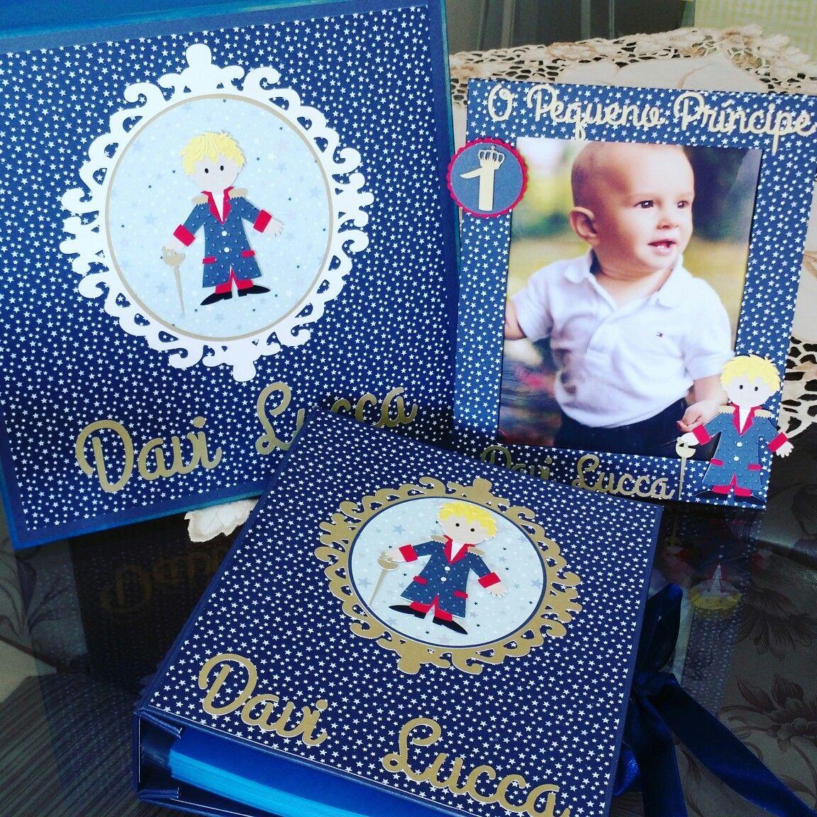Álbum personalizado pequeno príncipe
