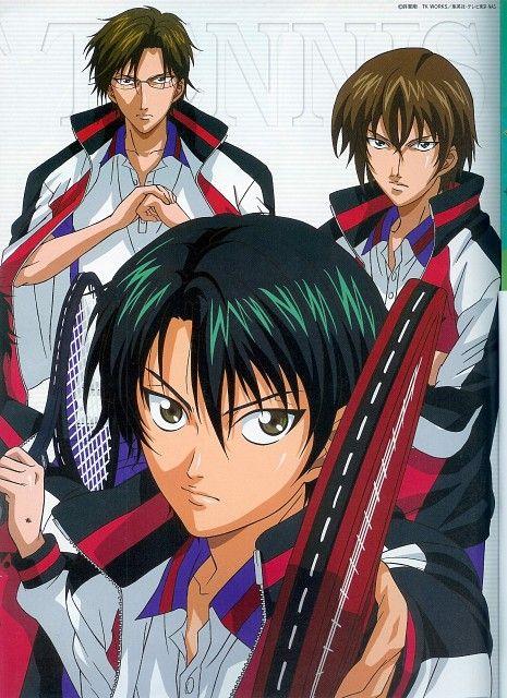 Kunimitsu Tezuka Ryoma Echizen Shusuke Fuji Prince Of Tennis Anime The Prince Of Tennis Tennis Wallpaper