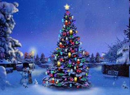 blinking christmas tree lights