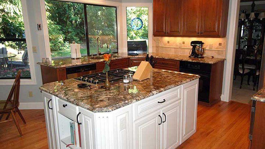 7 Kitchen Island Ideas, Design Trends Granite countertop
