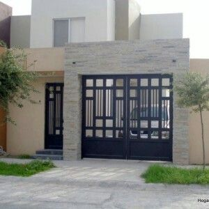Pin by 1 561 951 1622 on terraza casa playa pinterest - Puertas de metal para casas ...
