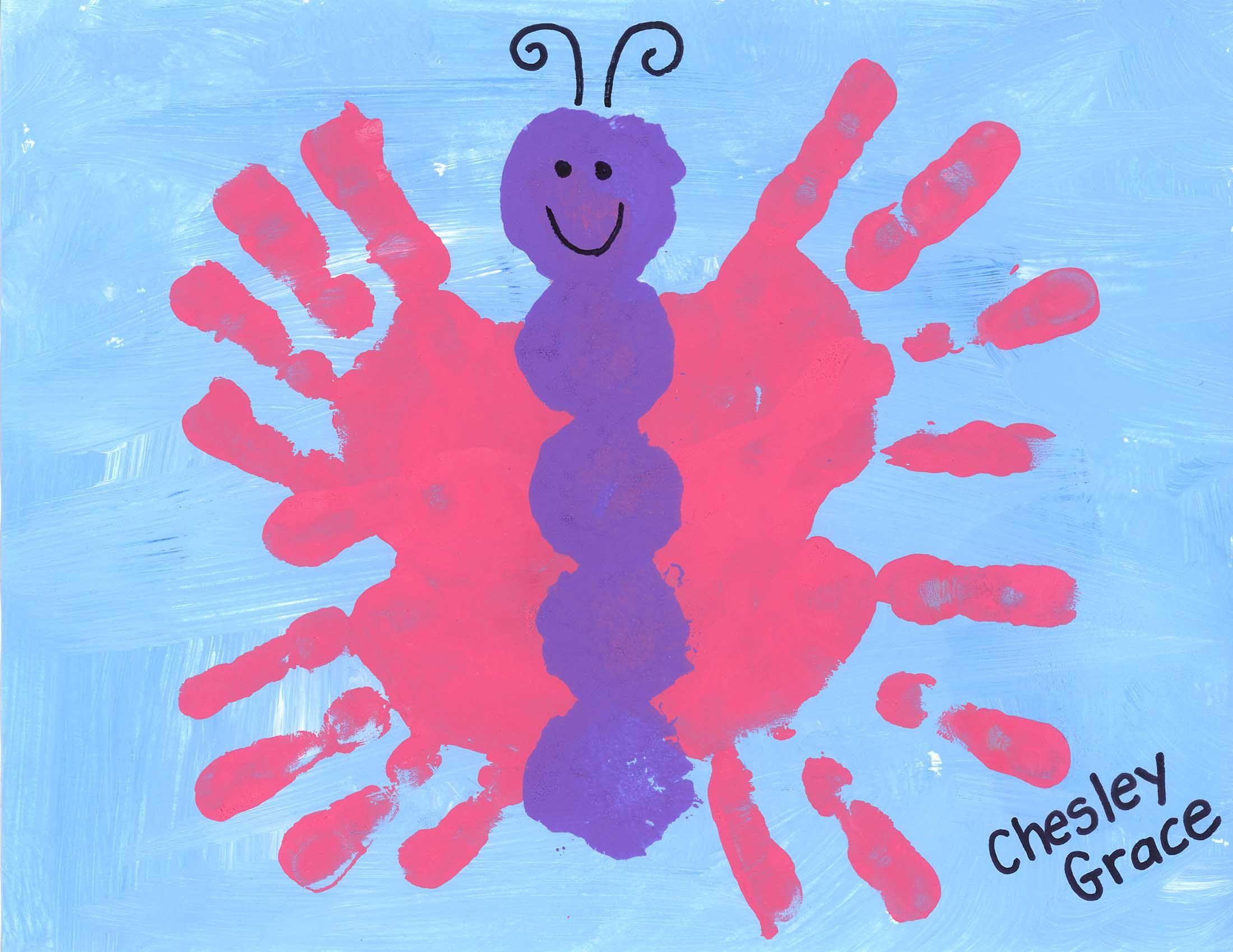 Handprint Butterfly