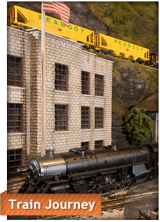 The Largest Indoor Train Display Located At 7379 Squire Court West