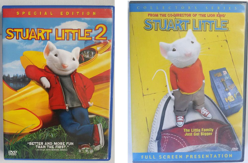 This Is A Lot Of 2 Dvd Movies That Is Stuart Little 1 And 2 One Is Widescreen And One Is Fullscreen They Have Hardl Stuart Little Stuart Little 2 Family Show