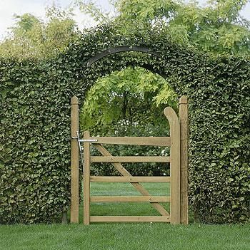 Portillon boic portail et portillon pinterest portillon portail portillon et portail - Portillon jardin bois ...