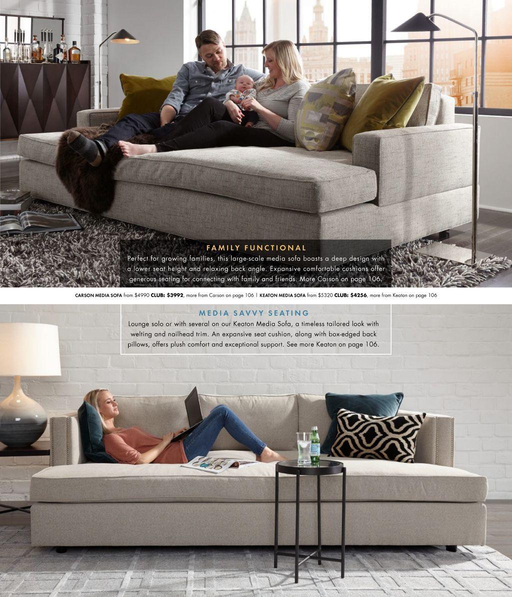 We Invite You To Peruse Our Fall 2017 Catalog Living Room Sofa Design Deep Sofa The Big Comfy Couch