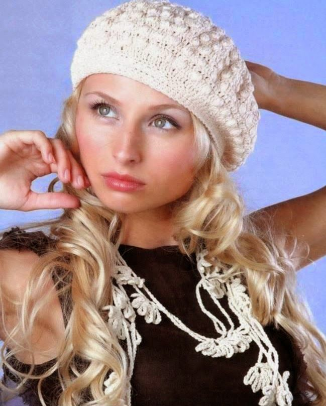 Patrón #404: Boina a Crochet #ctejidas http://blgs.co/1HRw4a ...
