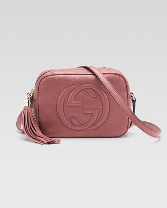 a6d9d5aeea90 Gucci Soho Leather Disco Bag, Vintage Rose - Neiman Marcus #gucci #pink