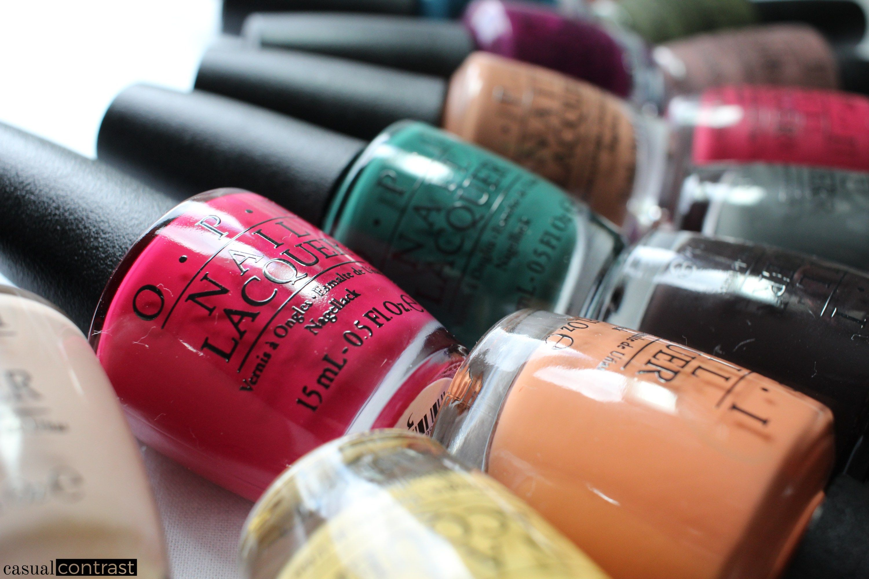 OPI Washington, D.C. Collection for Fall/Winter 2016 • Casual Contrast