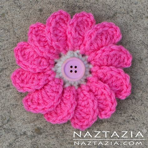 Crochet Flowing Flower Diy Free Pattern And Youtube Tutorial