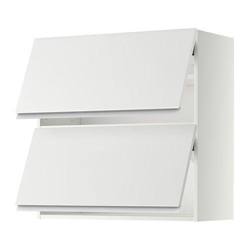 Best Metod Wall Cabinet Horizontal W 2 Doors White Veddinge 400 x 300