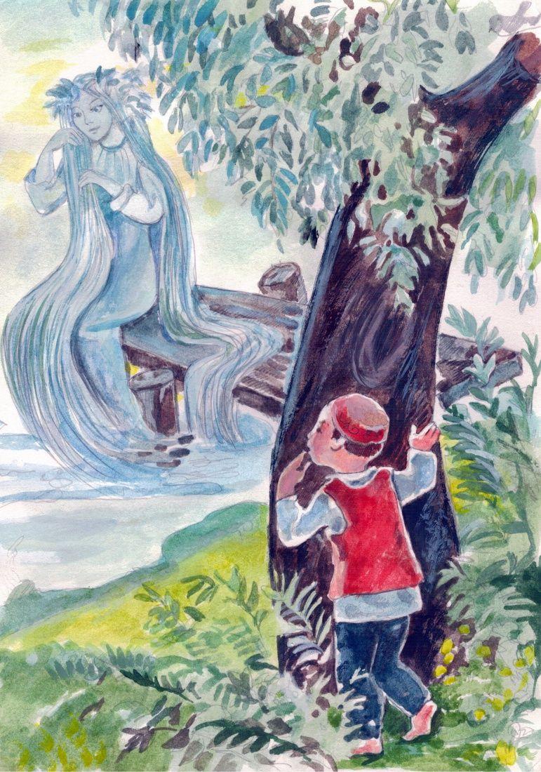 Картинки сказки водяная