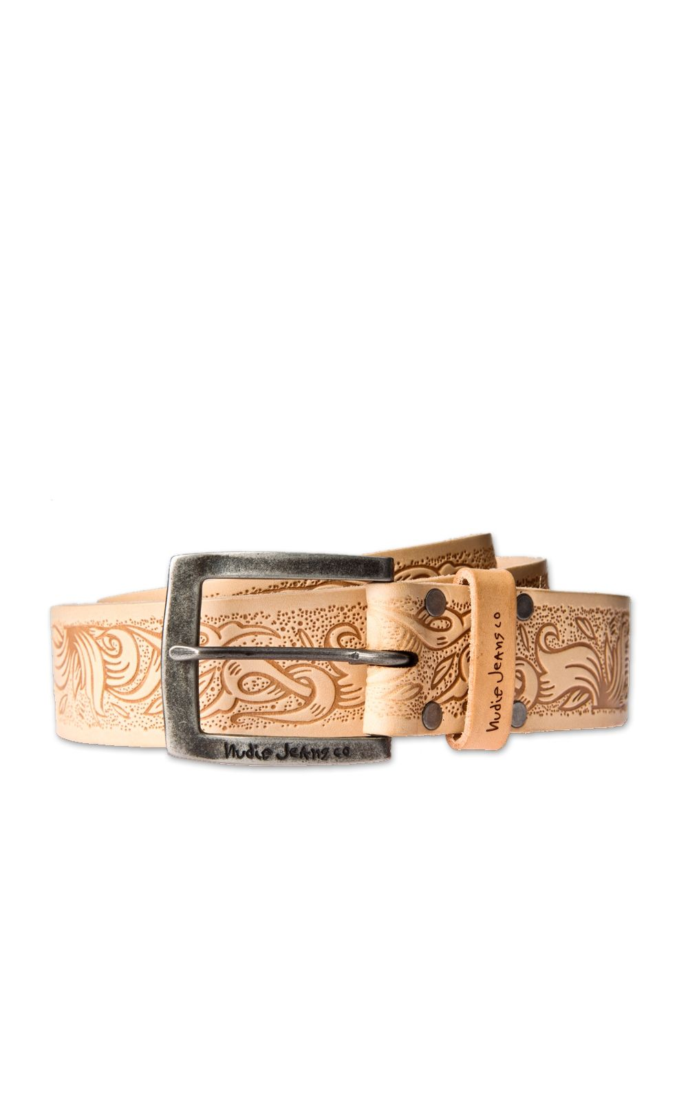 Cultizm.com - Teosson Leather Belt Natural Nudie Jeans Teosson Leather Belt Natural 180410 NATURAL