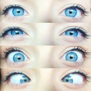 نتیجه تصویری برای girl with blue eyes pinterest