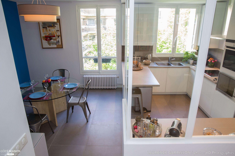 epure et design pour une cuisine verriere a neuilly laurence garrisson cote maison