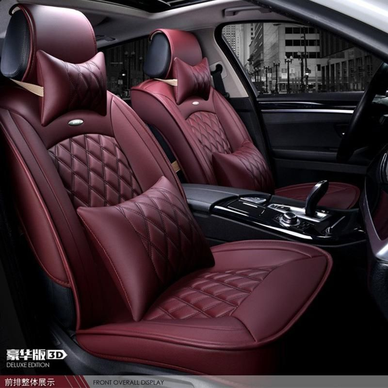 Front Seats Car Seat Covers for Qashqai Color Premium Red /& Black