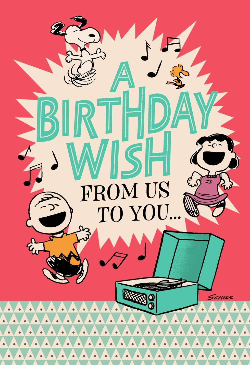 Peanuts Happiness The Whole Year Through Birthday Card 299hbd1764 20 Ideas For Birthdays Cards Snoopy Birthday Birthday Card Pictures Happy Birthday Uncle