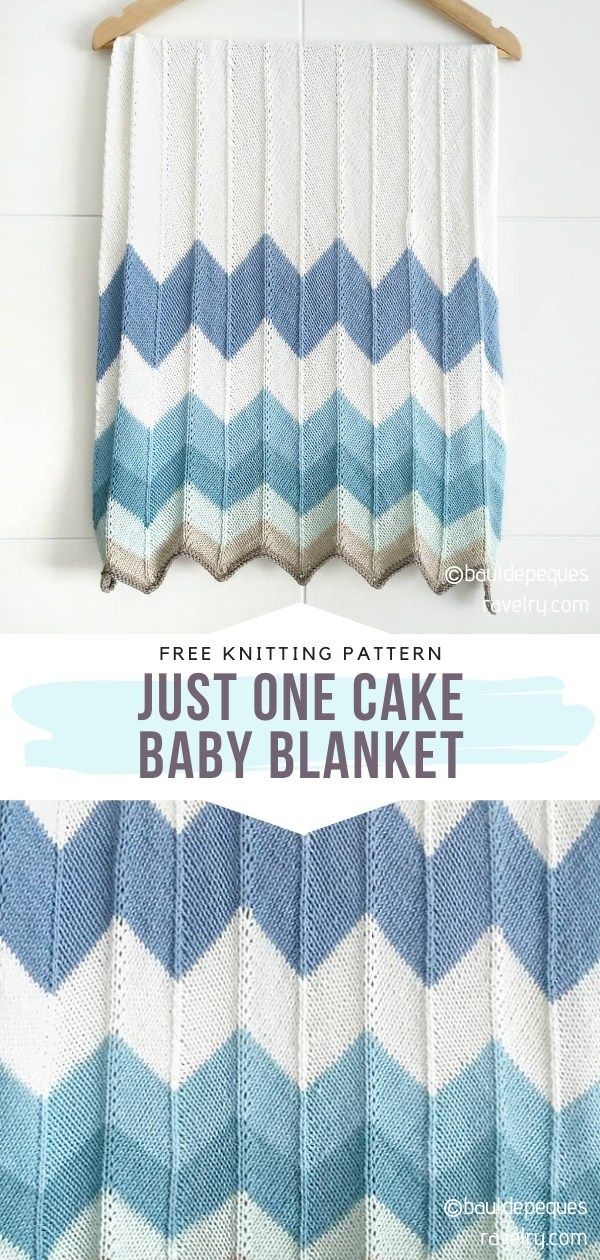 Sweet Knitted Baby Blankets Free Patterns in 2020 ...