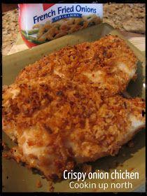 Crispy Onion Chicken..... A taste of Home Classic