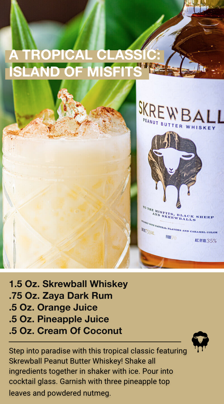 Photo of Tropical Classic With Peanut Butter Whiskey Recipe
