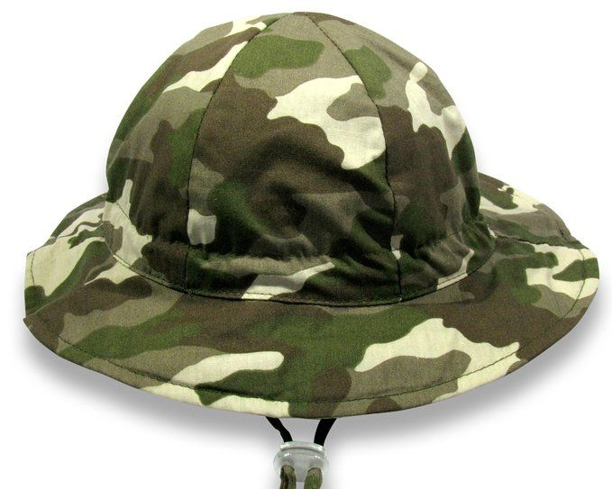 6f7b20292f309 Amazon.com  Baby Sun Hat By Colwares - 100% Cotton Sun Protection With Wide  Brim (Camo