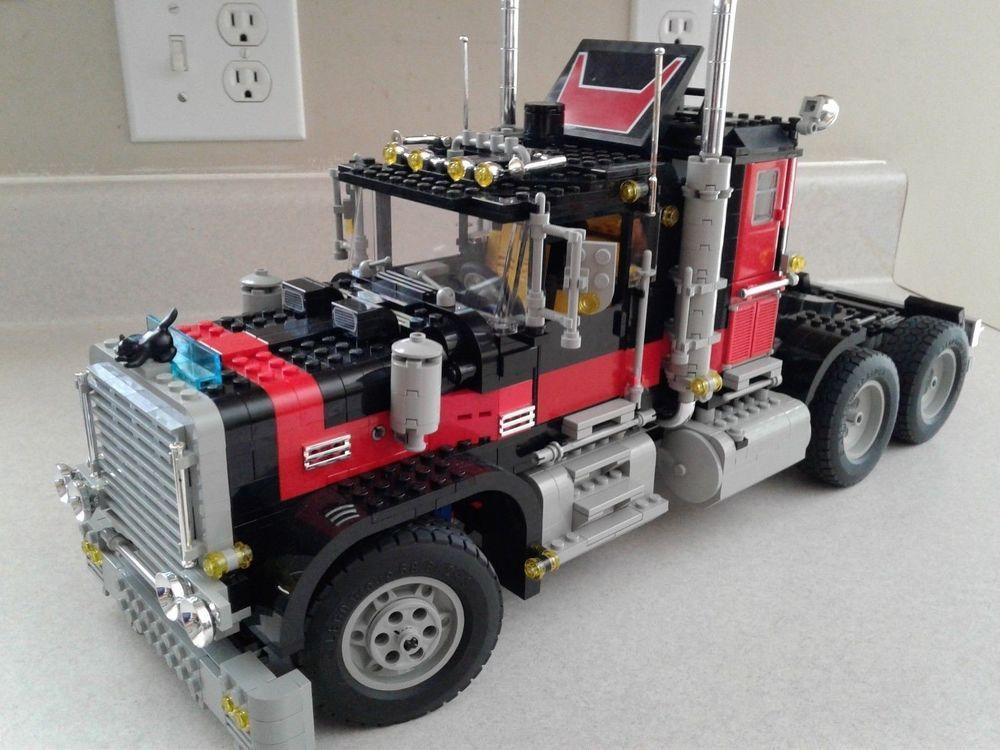 Lego Model Team 5571 Black Cat Truck Legovehicles Lego Models