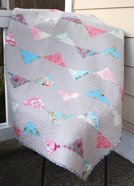 Bunting Baby / Toddler Quilt Pattern | Edredones, Acolchados y Bebé