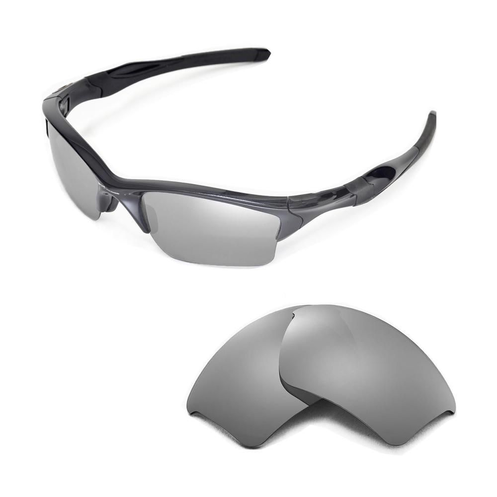 7c05a75bc3 New Walleva Titanium Polarized Replacement Lenses For Oakley Half Jacket 2.0  XL  fashion  clothing  shoes  accessories  unisexclothingshoesaccs ...