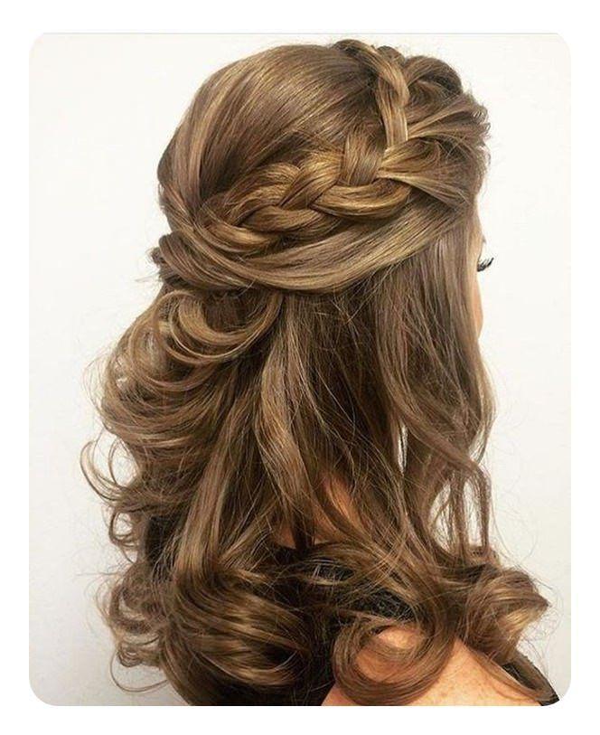 71 Penteados Exclusivos Da Dama De Honra Para O Grande Dia Con Imagenes Peinados Pelo Largo Peinados Poco Cabello