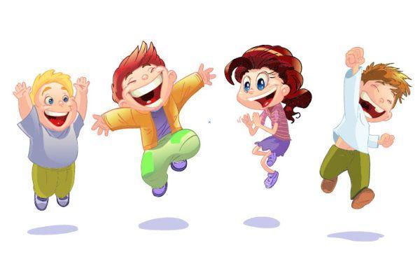 Resultado de imagen de imagen niños alegres