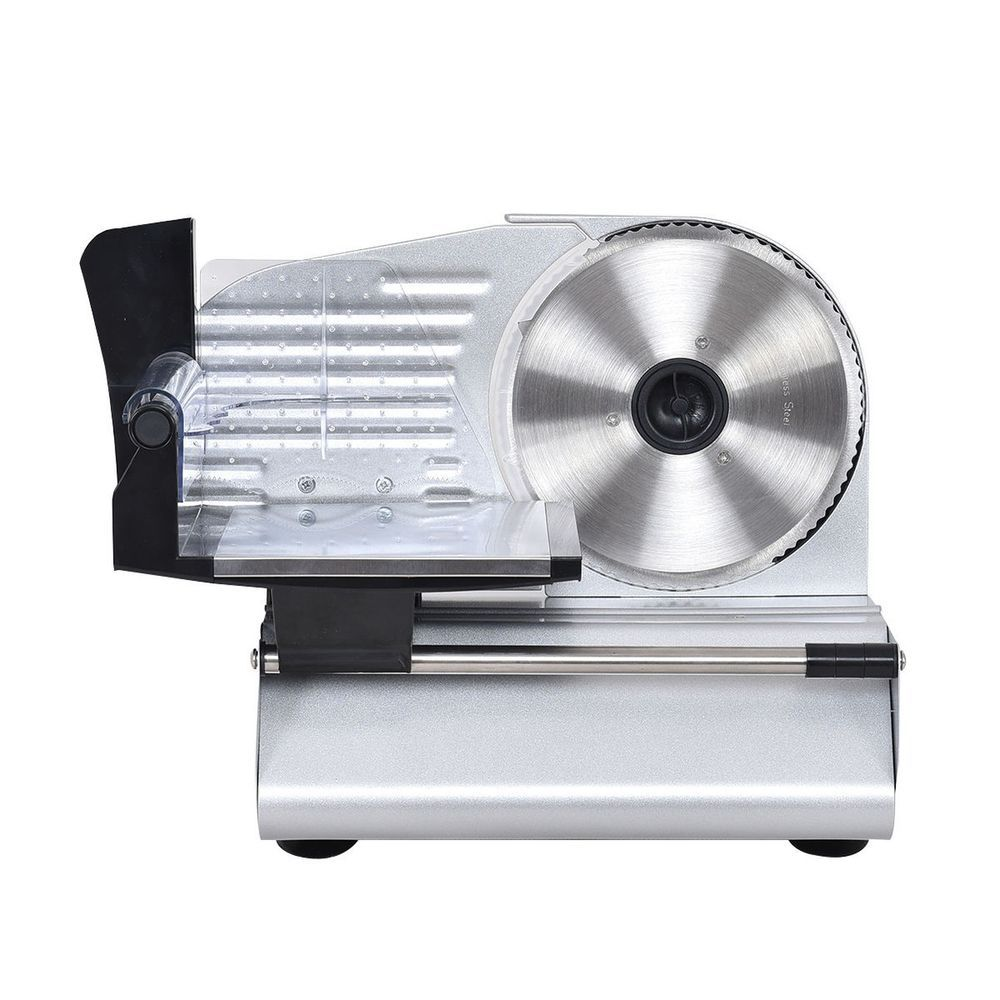 7.5 Electric Commercial Professional Kitchen Deli Meat Slicer Food ...
