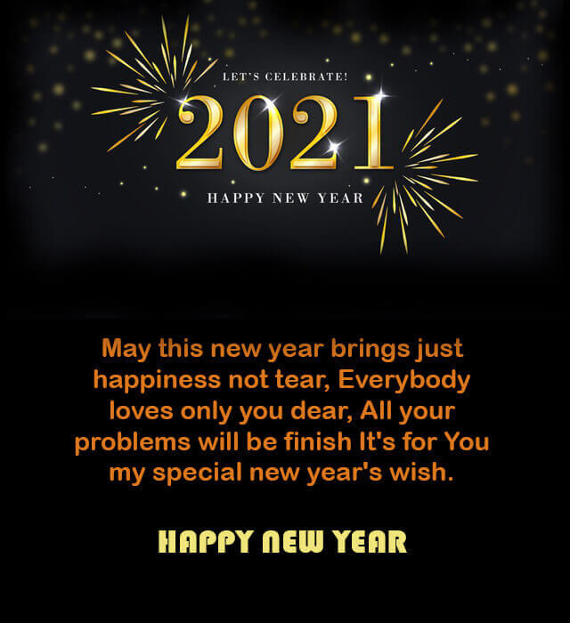 Top 20 Happy New Year 2021 Images And Love Quotes For Her Him Happy New Year Quotes Quotes About New Year Happy New Year Message