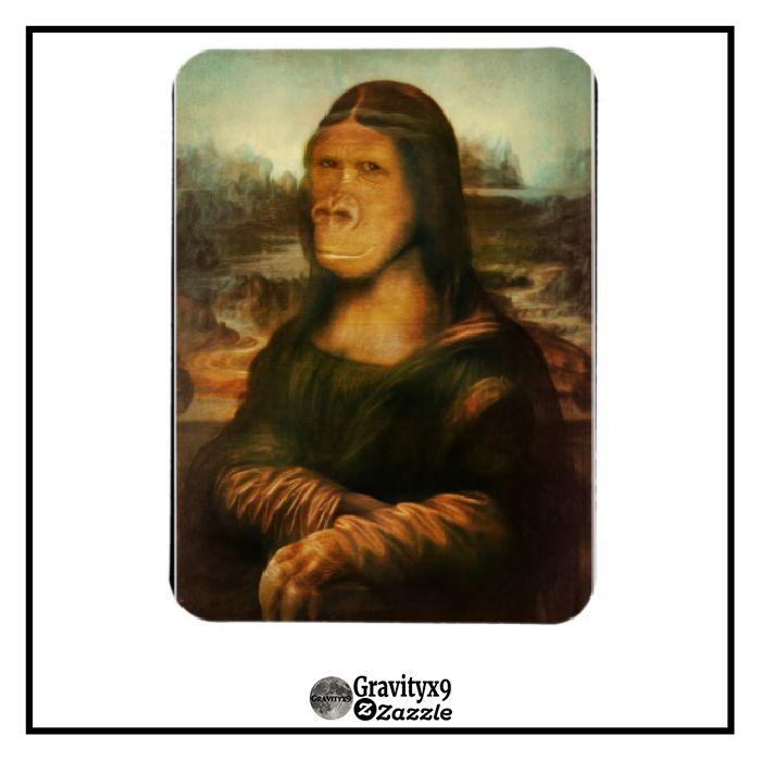 Mona Rilla aka Mona Lisa Magnet | Zazzle.com