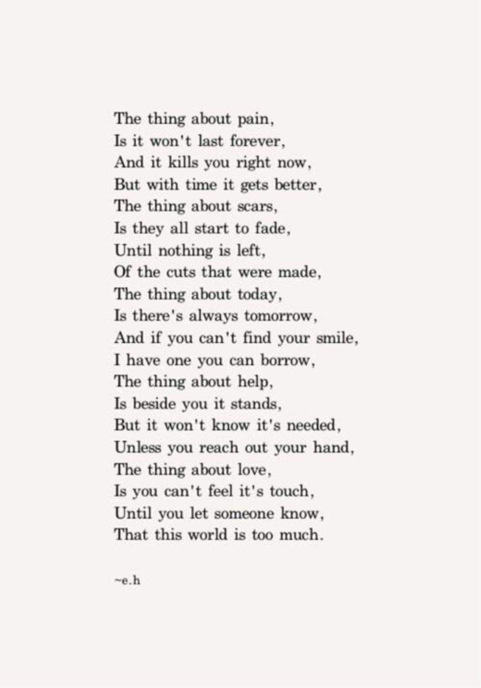 25 Of My Favorite Eh Poems Paroles Inspirantes Poeme