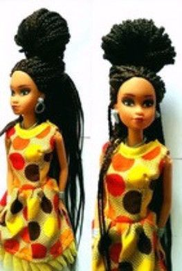 A Beautiful 18 Inch Vinyl Doll With Facial Features True To Women Of