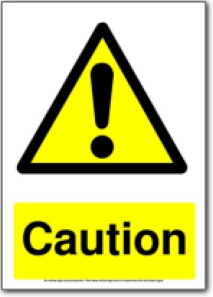 graphic about Escape Room Signs Printable named cost-free printable warning caution indicator Get together Year! Possibility