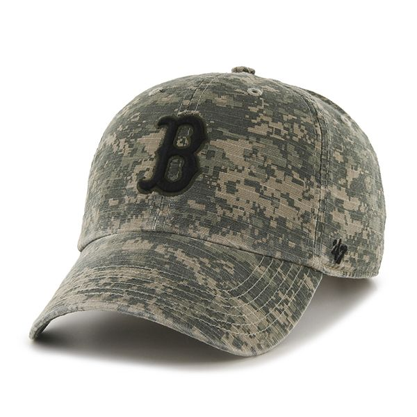 e5ba3eb7637 Boston Red Sox Officer Digital Camo 47 Brand Adjustable Hat