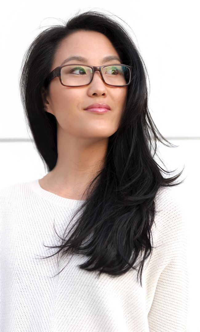 Hairstyles For Long Asian Hair : Haircut sally hershberger salon layers asian hairstyles. more