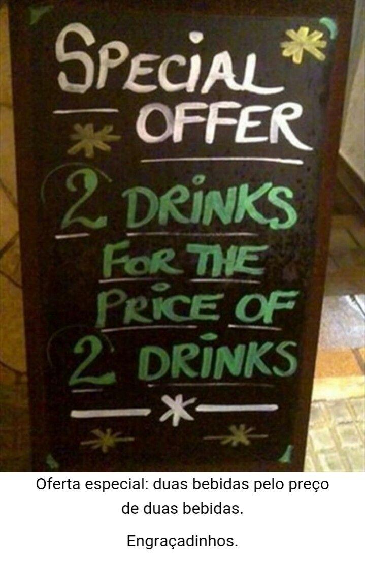 Boa promoção!!! Igual a um é 5$ e dois é 10$