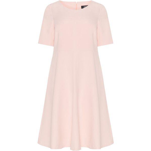 e3dda5ab060 navabi Pink Plus Size Stretchy A-line midi dress ( 170) ❤ liked on ...
