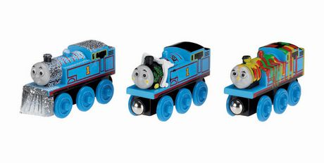 Fisher Price Thomas Friends Wooden Railway 3 Pack Adventures Of