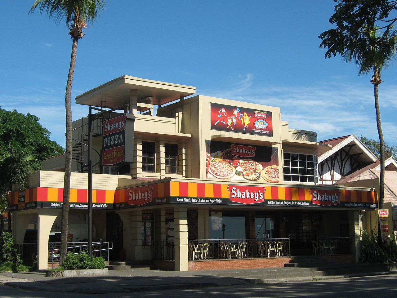 Shakey's Pizza restaurant in Dumaguete City Shakeys