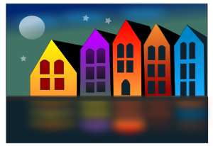 city of canals by @netalloy, real estate clip art by NetAlloy