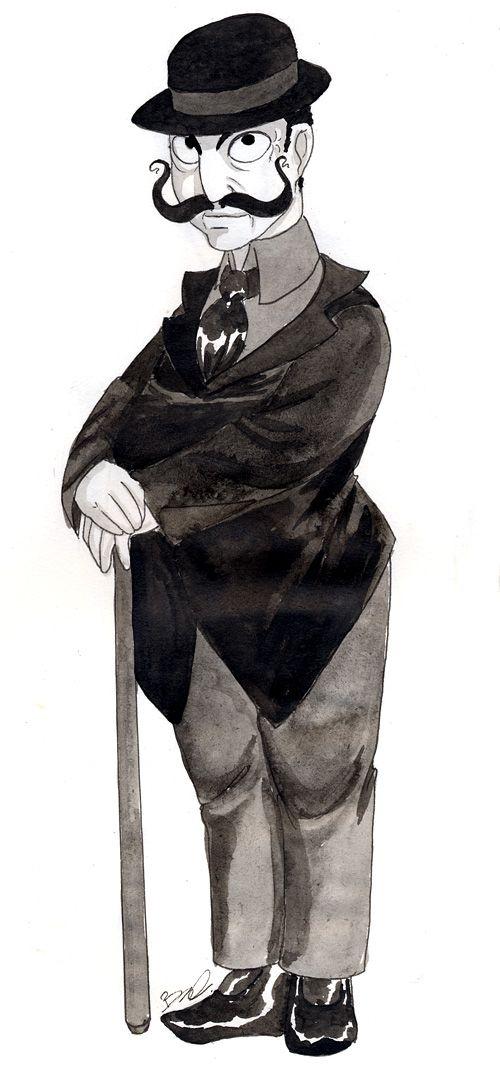 Hercule Poirot by *PolymorphicGirl on deviantARTpolymorphicgirl.deviantart.com