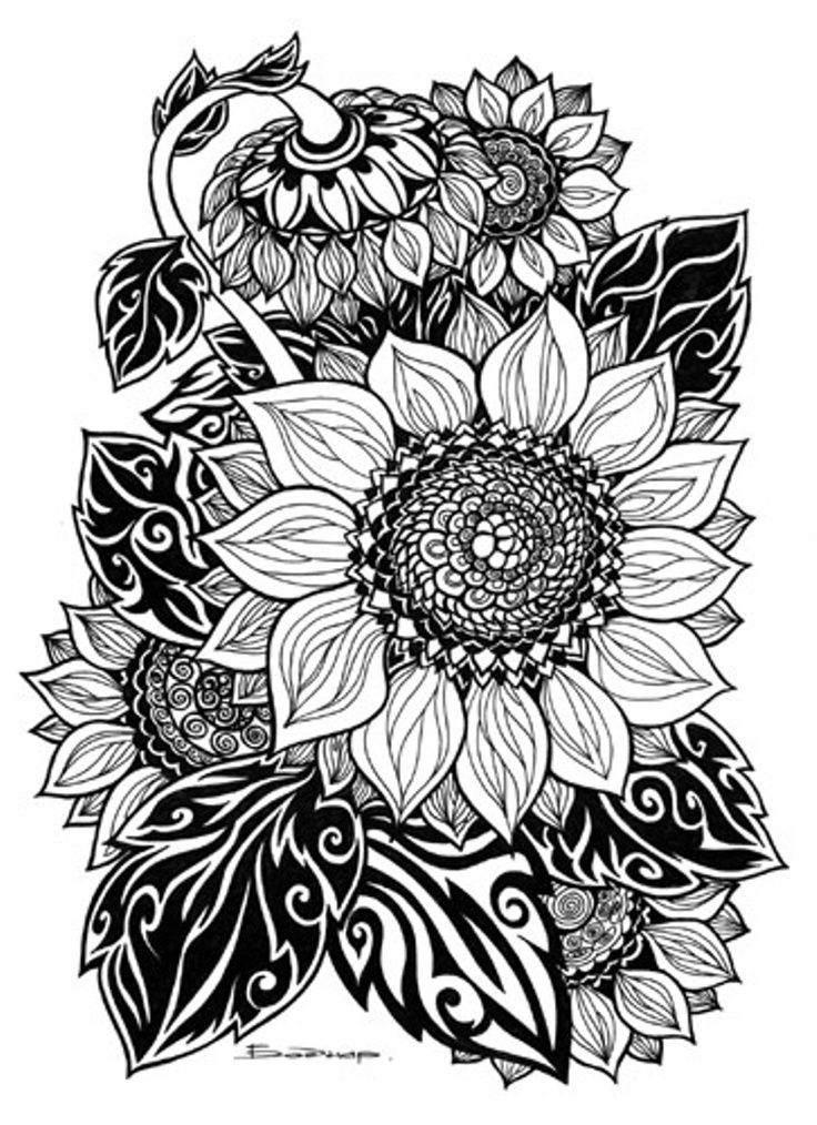 Tribal art coloring pages ~ Tribal Artwork And Culture | Coloring pages, Zentangle ...