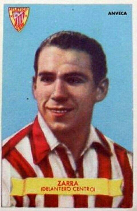 Telmo Zarra Of Athletic Bilbao In 1960