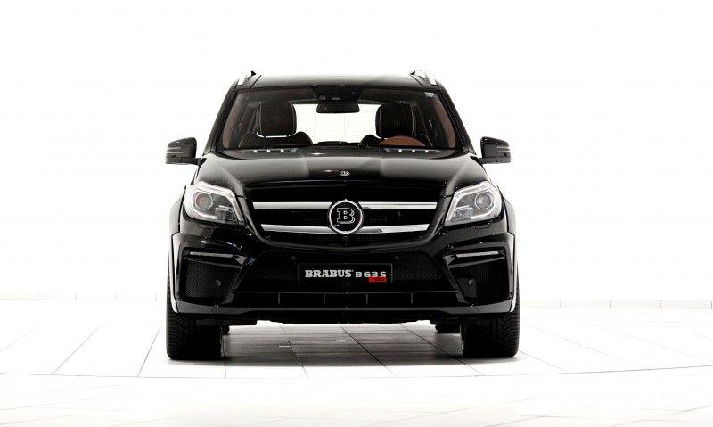 186mph 7 Seat Suv Brabus B63s 700 Widestar For Mercedes Benz Gl Cl